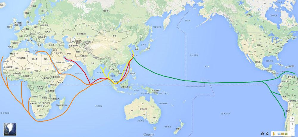 china oil shipping