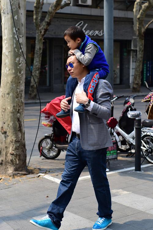 man and kid