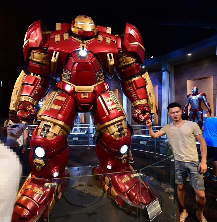 andalue shanghaidisney marvel iron man
