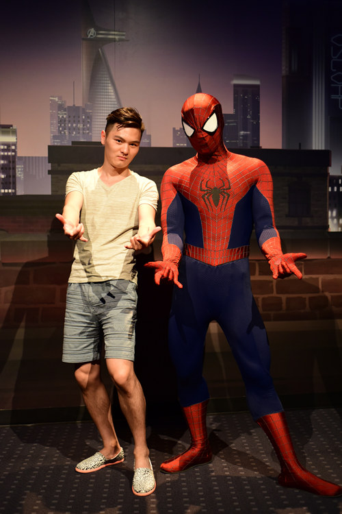 andalue shanghaidisney marvel spiderman